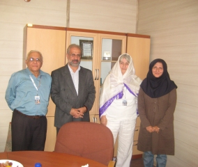 CIFEJ Members visited the CIFEJ HQ in Tehran