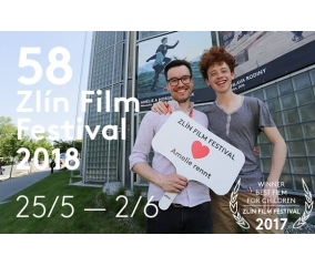 ZLÍN FILM FESTIVAL – 58th International Film Festival for Children and Youth will take place from May 25 to June 2, 2018!